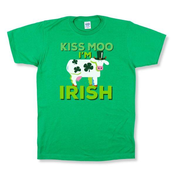 Kiss Moo I'm Irish Front