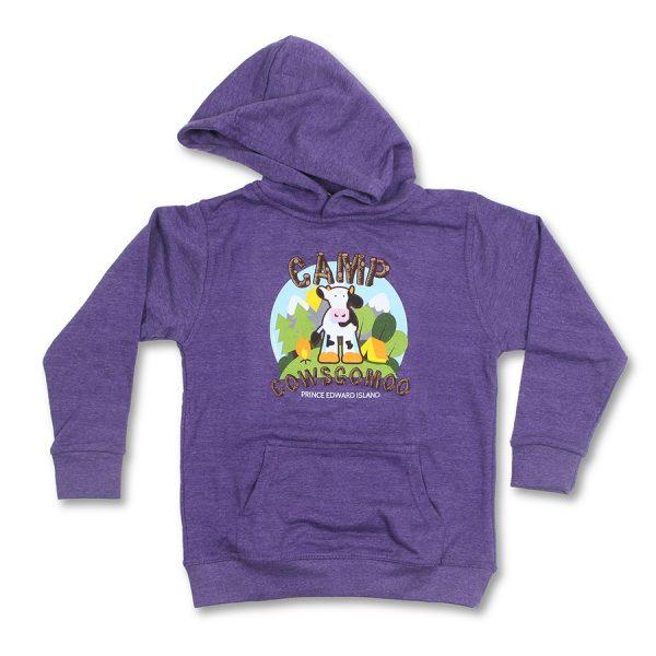 Cows Go Moo Purple