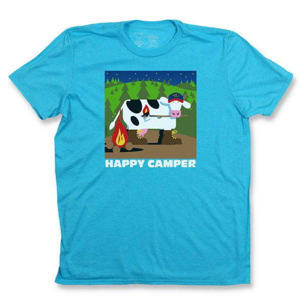 Happy Camper Adult T Carrib Front