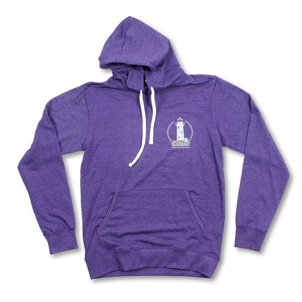Lighthouse Hoodie Purple