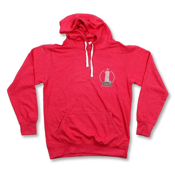 Lighthouse Hoodie Red
