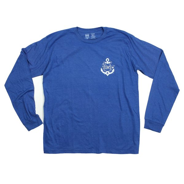 Anchor Longsleeve Blue Front
