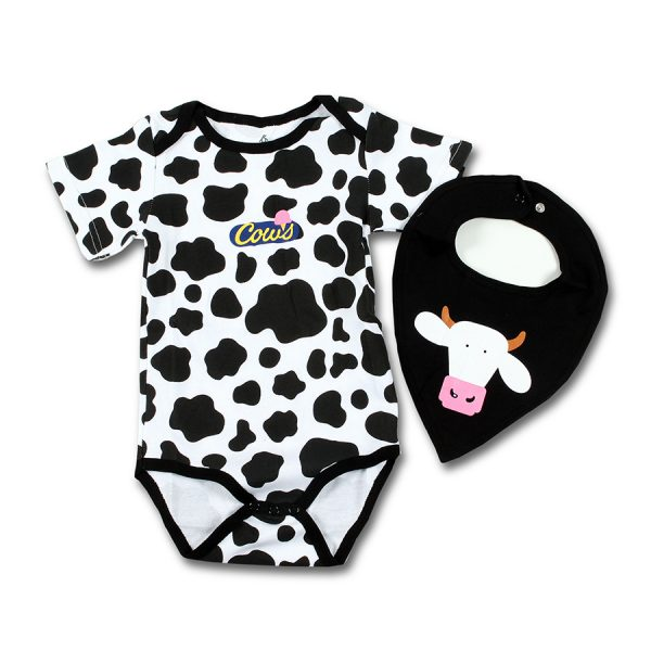 Spotted Body Suit and Bib