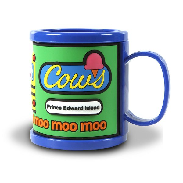 Bus Mug Blue - Back
