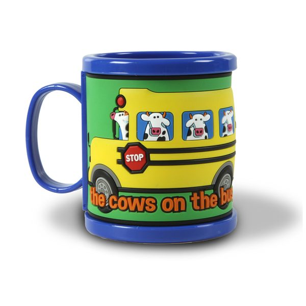 Bus Mug Blue - Front