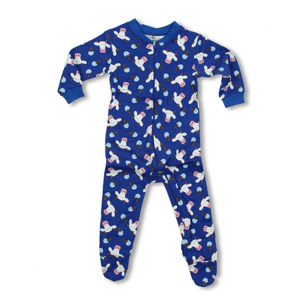 Blue Infant Sleeper