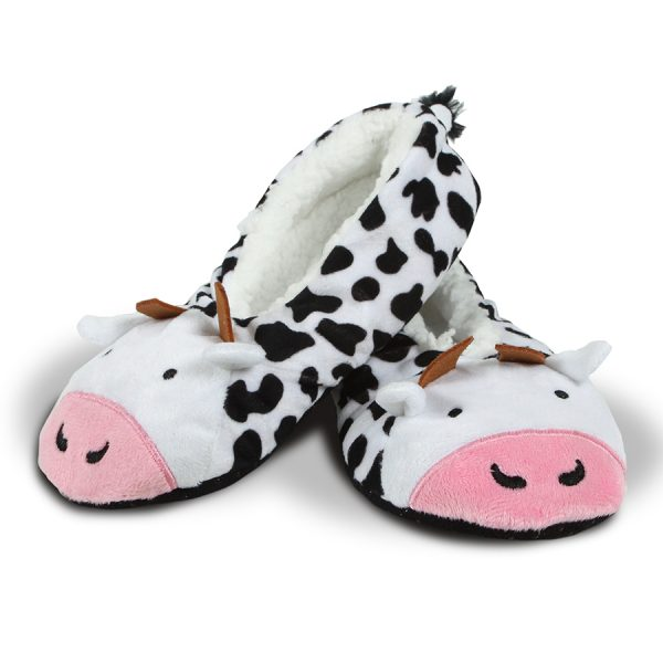 3D COWS Slippers