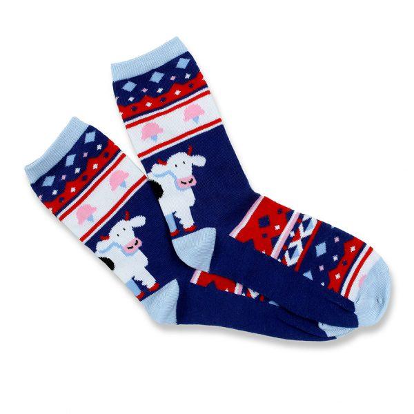 COWS Socks Ugly