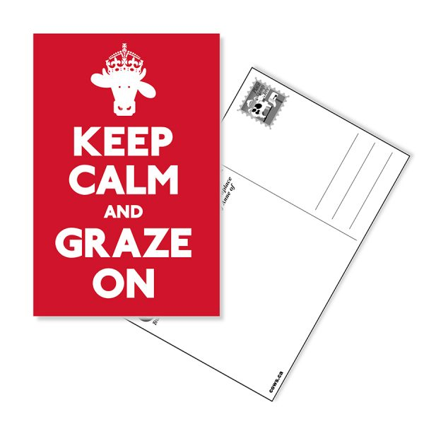 Keep Calm Postcard