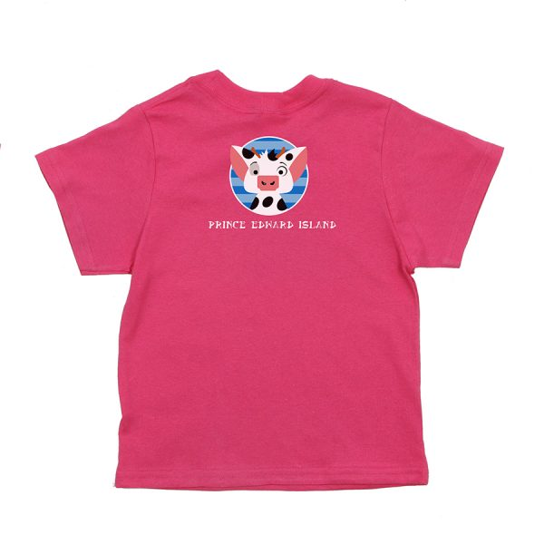 Mooana Kids T Pink Back