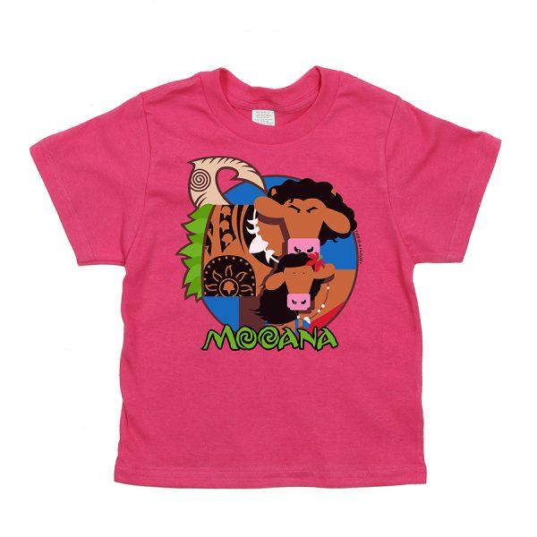 Mooana Kids T Pink Front