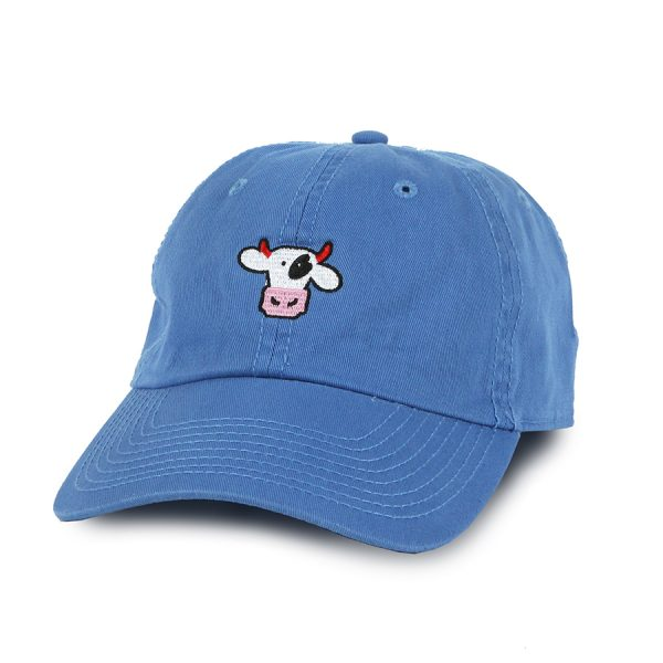 Dad Cap Blue Cow