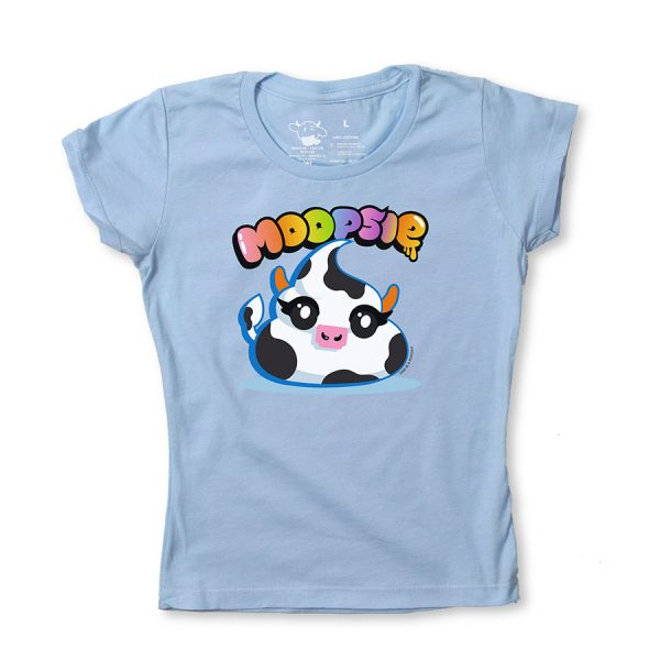 moopsie blue girly T