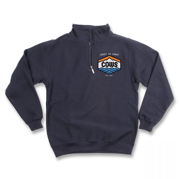COWS Coast to Coast Quarter Zip Navy