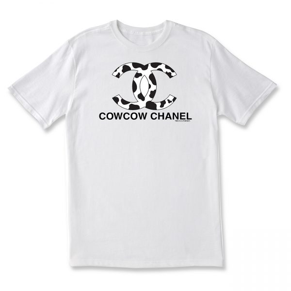 COWS COW COW Chanel Adult T
