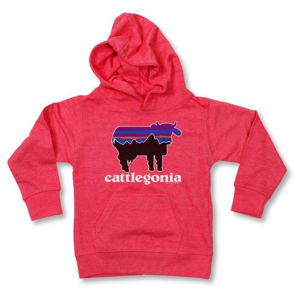 COWS Cattlegonia Kids Hoodie - Pink