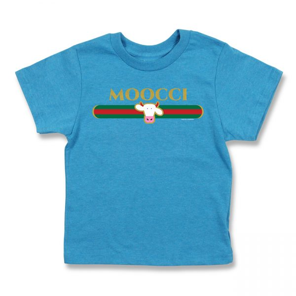 COWS Moocci Parody Kids T, Blue