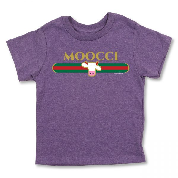 COWS Moocci Parody Kids T, Purple