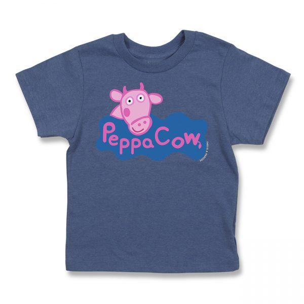 COWS Peppa COWS Parody Kids T - Navy