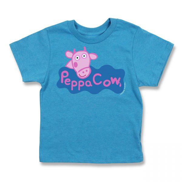 COWS Peppa COWS Parody Kids T - Blue