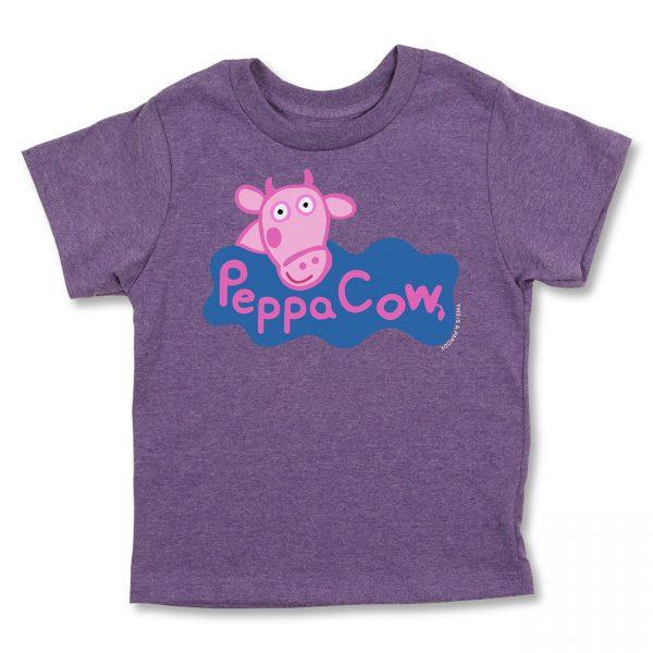 COWS Peppa COWS Parody Kids T - Purple