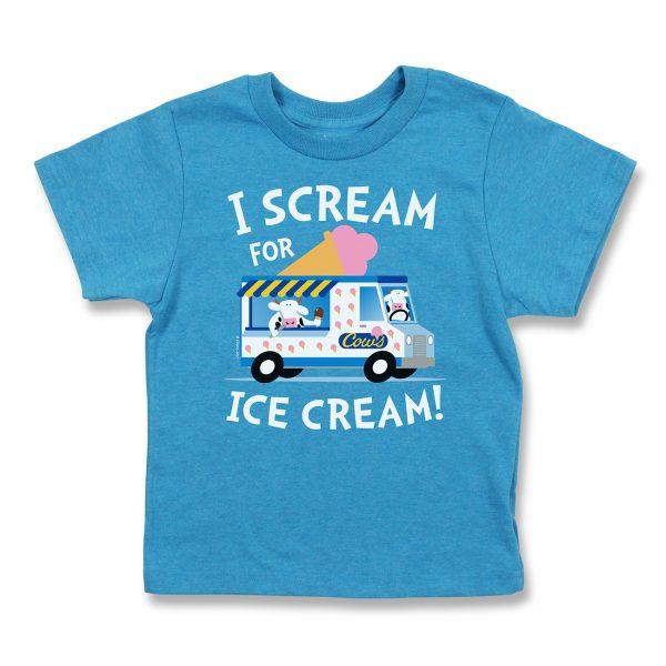 COWS I Scream Kids T, Sapphire