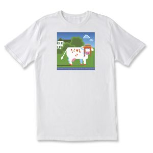COWS Classics Anne of Green Gables T Shirt - White