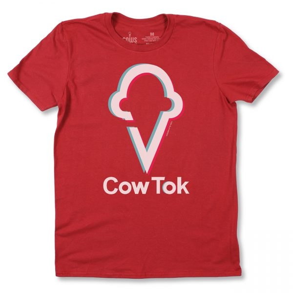 COWS Youth CowTok Parody Red T