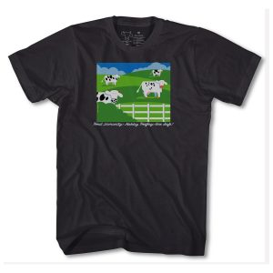 Herd Immunity T Shirt - Black