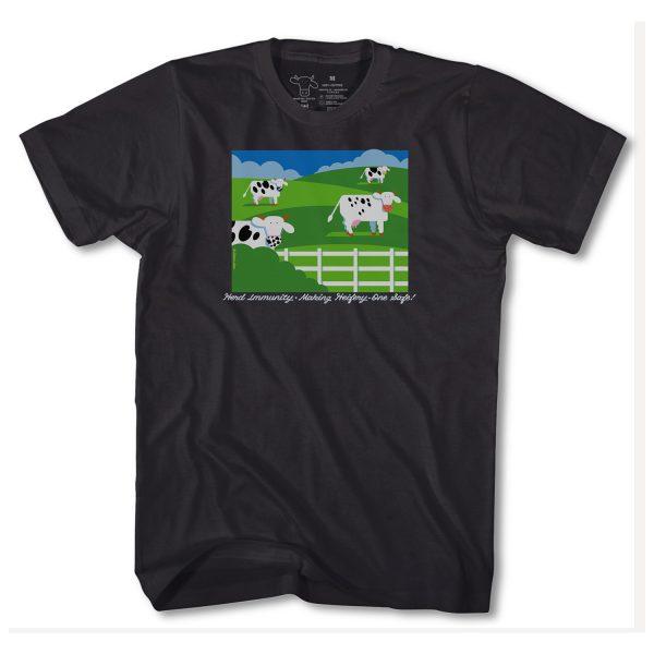 Herd Immunity T Shirt - Black