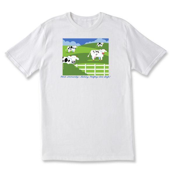 Herd Immunity T Shirt - White
