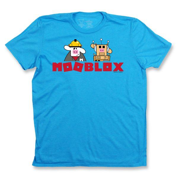 MOOBLOX YOUTH T - LIGHT BLUE