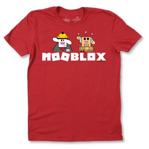 MOOBLOX YOUTH T - RED