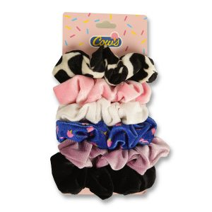 Assorted Scrunchies 6-Pack