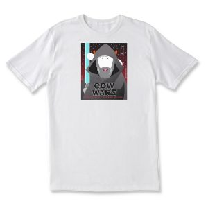 COW WARS LUKE ADULT T - WHITE