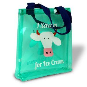 COWS PVC TOTE BAG