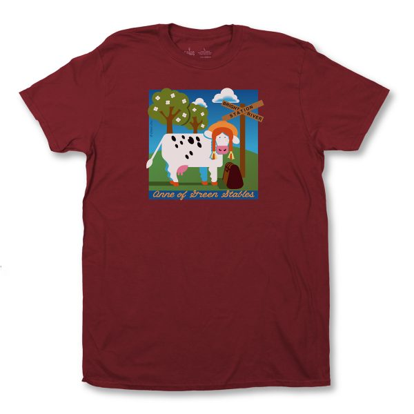 ANNE OF GREEN STABLES ADULT T - MAROON