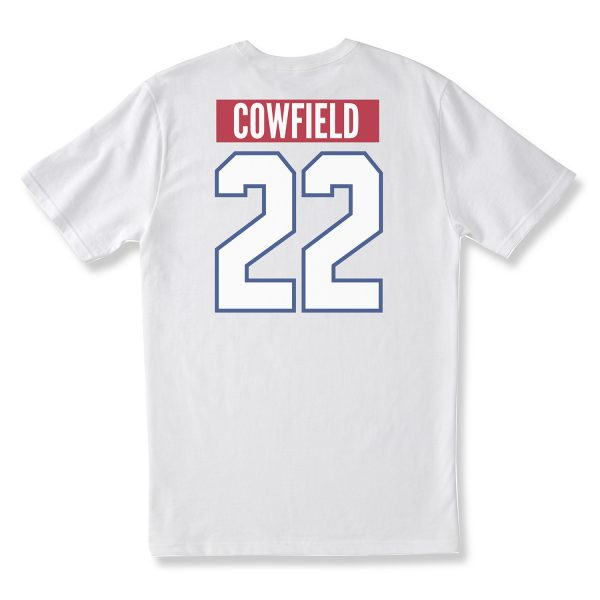COWFIELD ADULT T - WHITE