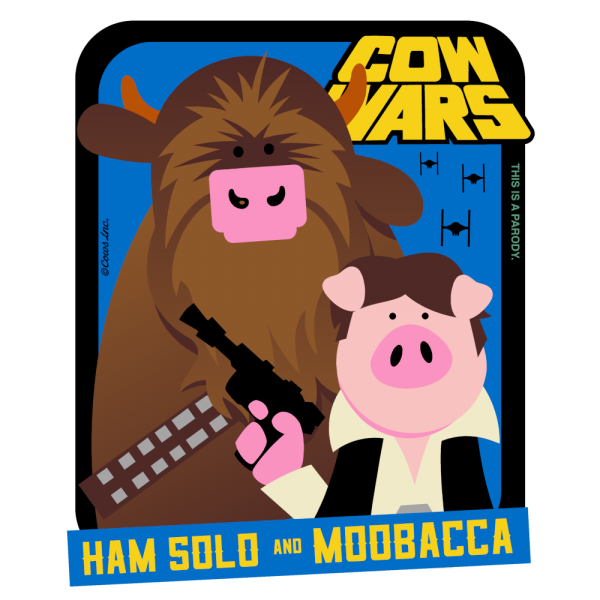 Ham Solo and Moobacca