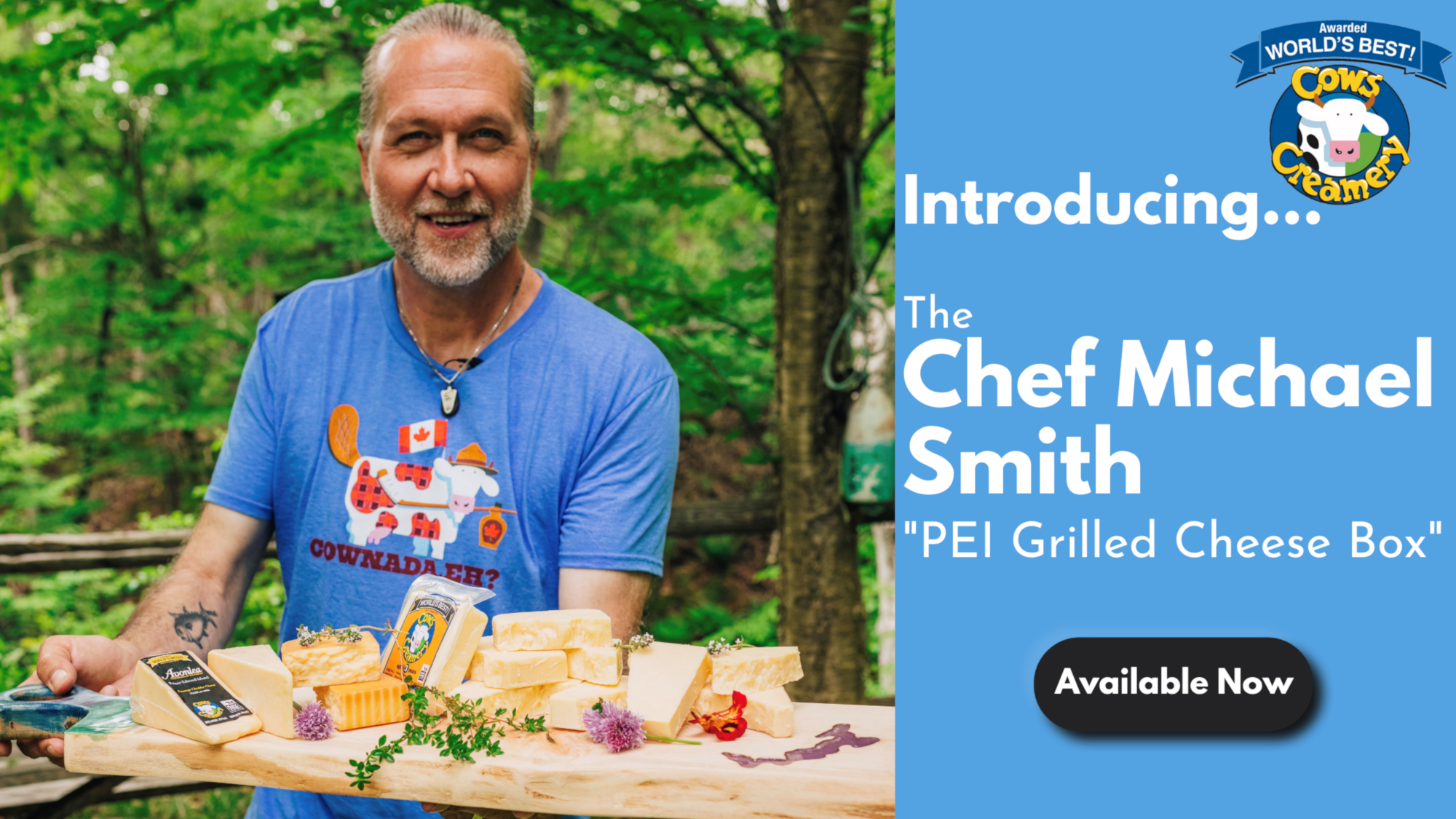Chef Michael Smith's PEI Grilled Cheese Box