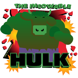 THE INCOWABLE HULK CLASSIC T IMAGE