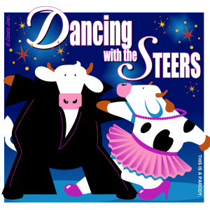 DANCING WITH THE STEERS CLASSIC T IMAGE
