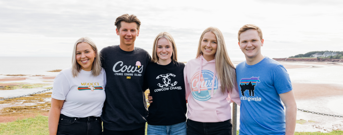 COWS Clothing Group Photo