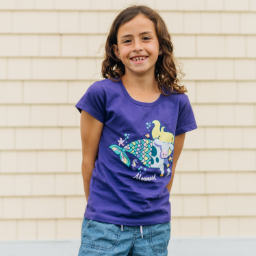 COWS Youth Clothing featuring Moo Maid Girly Cut T