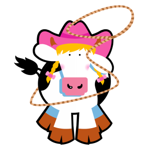 COWS Cowgirl Classic T