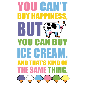 COWS Classics Happiness T