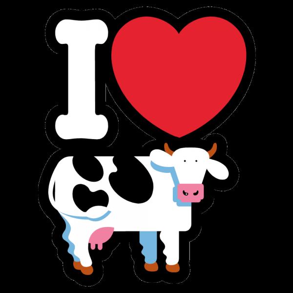 I Heart COWS Classic T