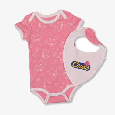 Pink Bib COWS Nitewear